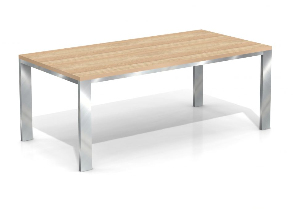 Mels eettafel R 4366 Dakota Eiken Naturel
